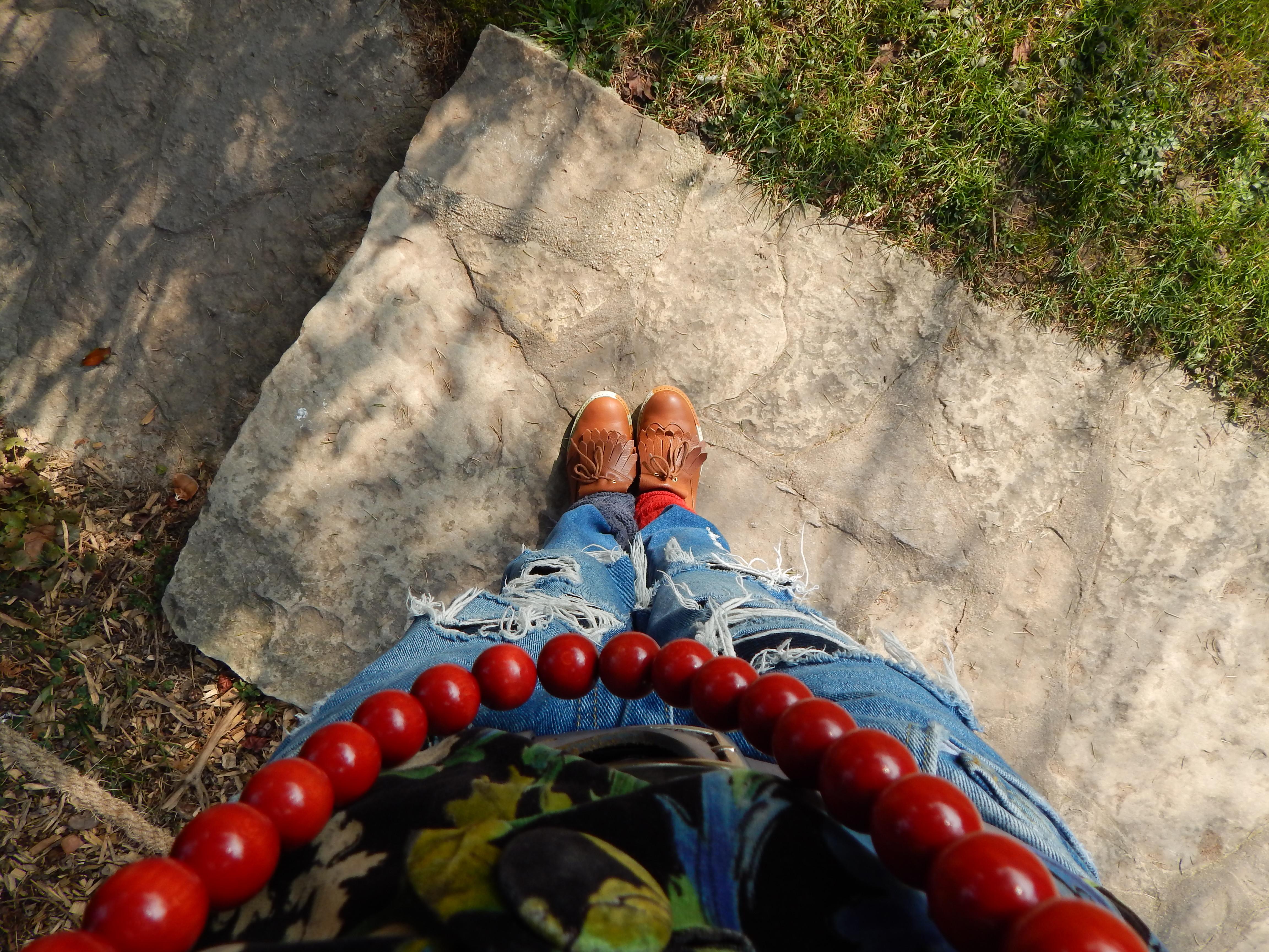 tenue parc chaussures