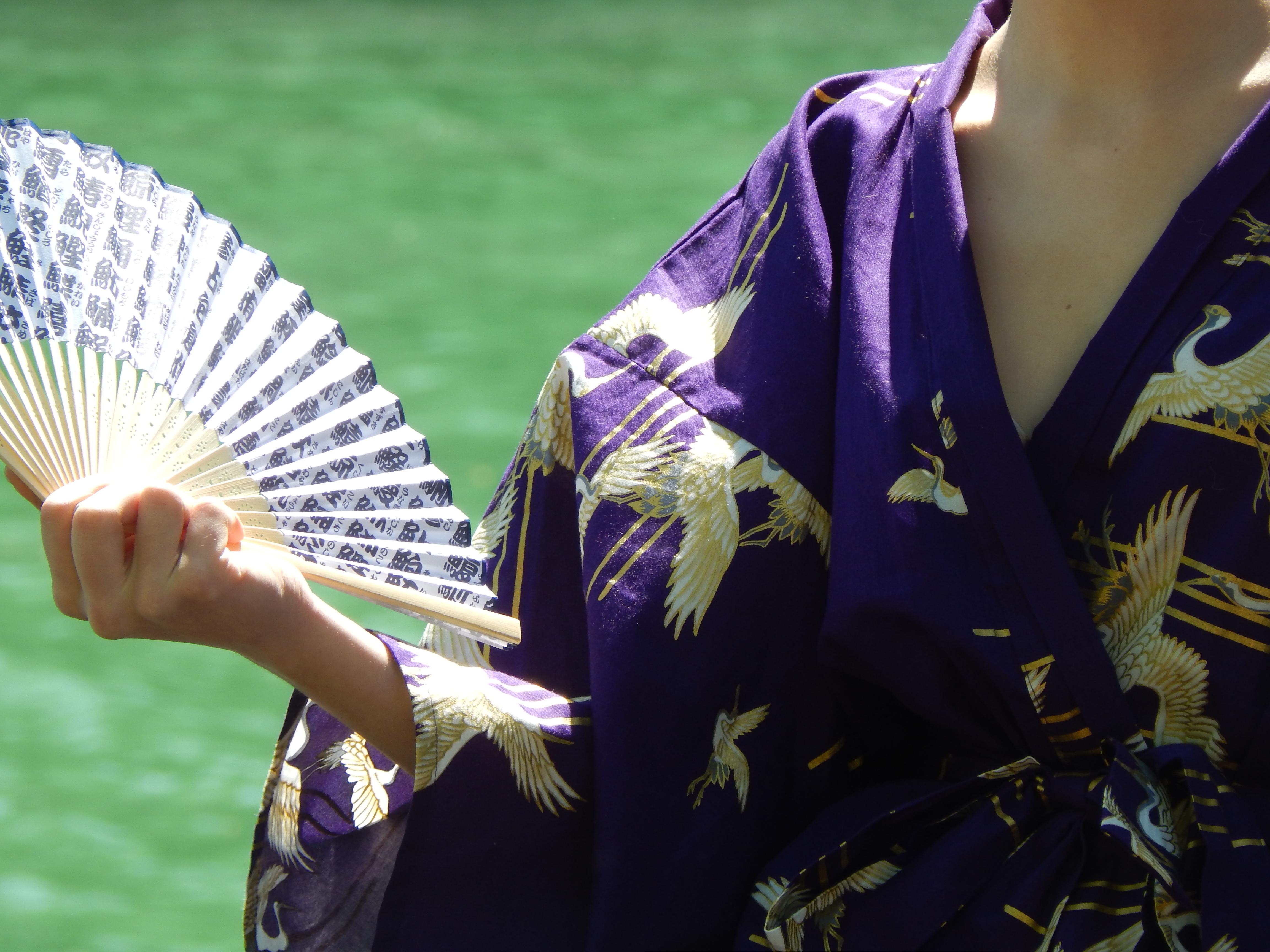 éventail japonais