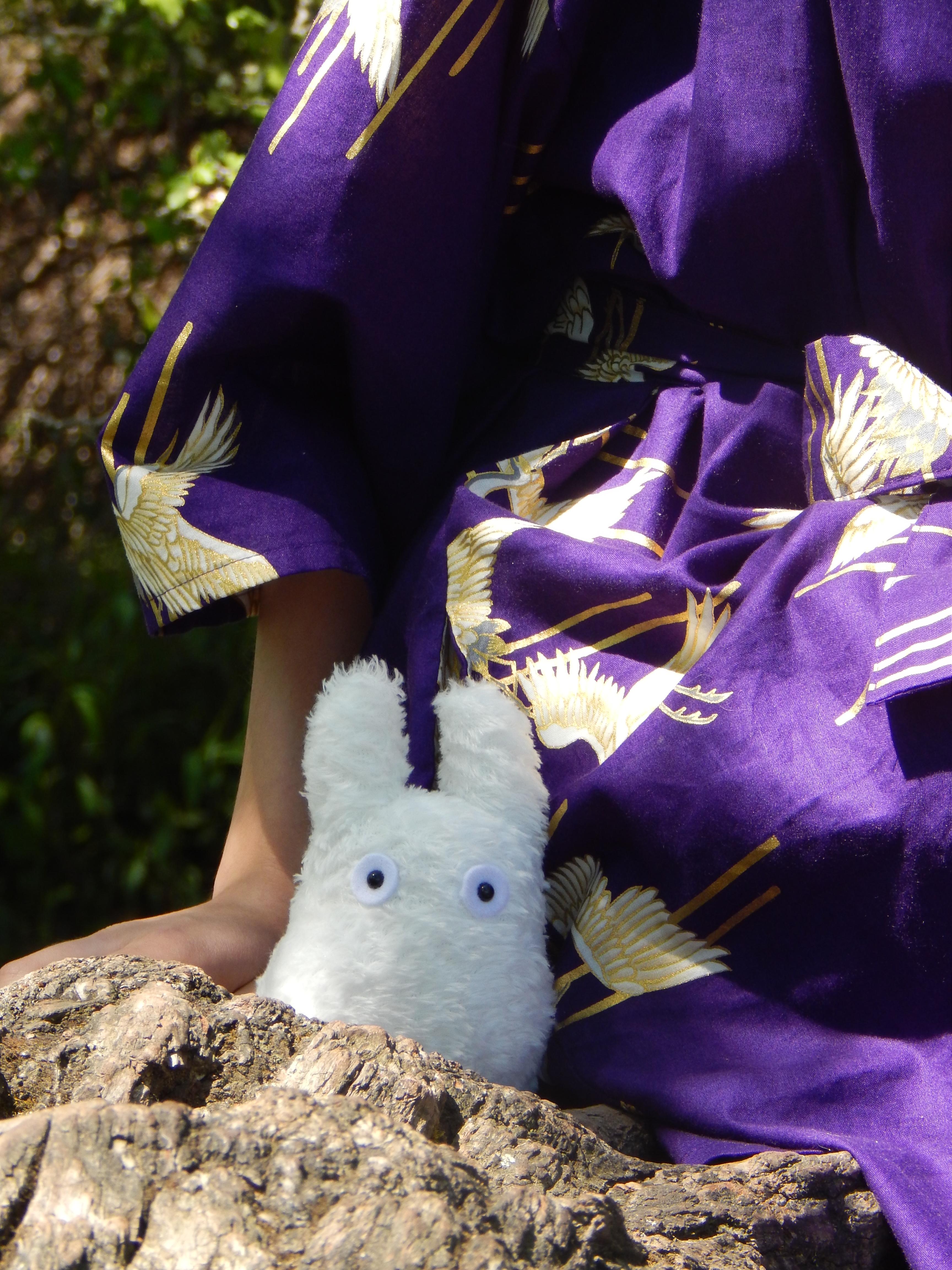 chibi totoro kimono
