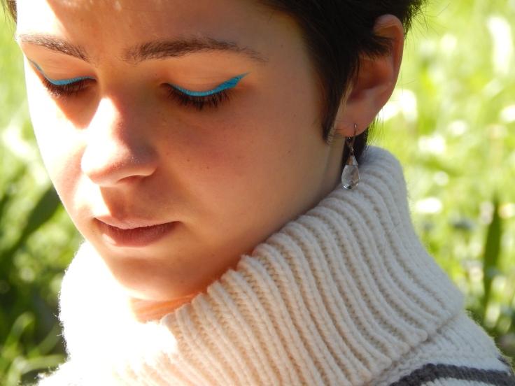 liner turquoise kiko