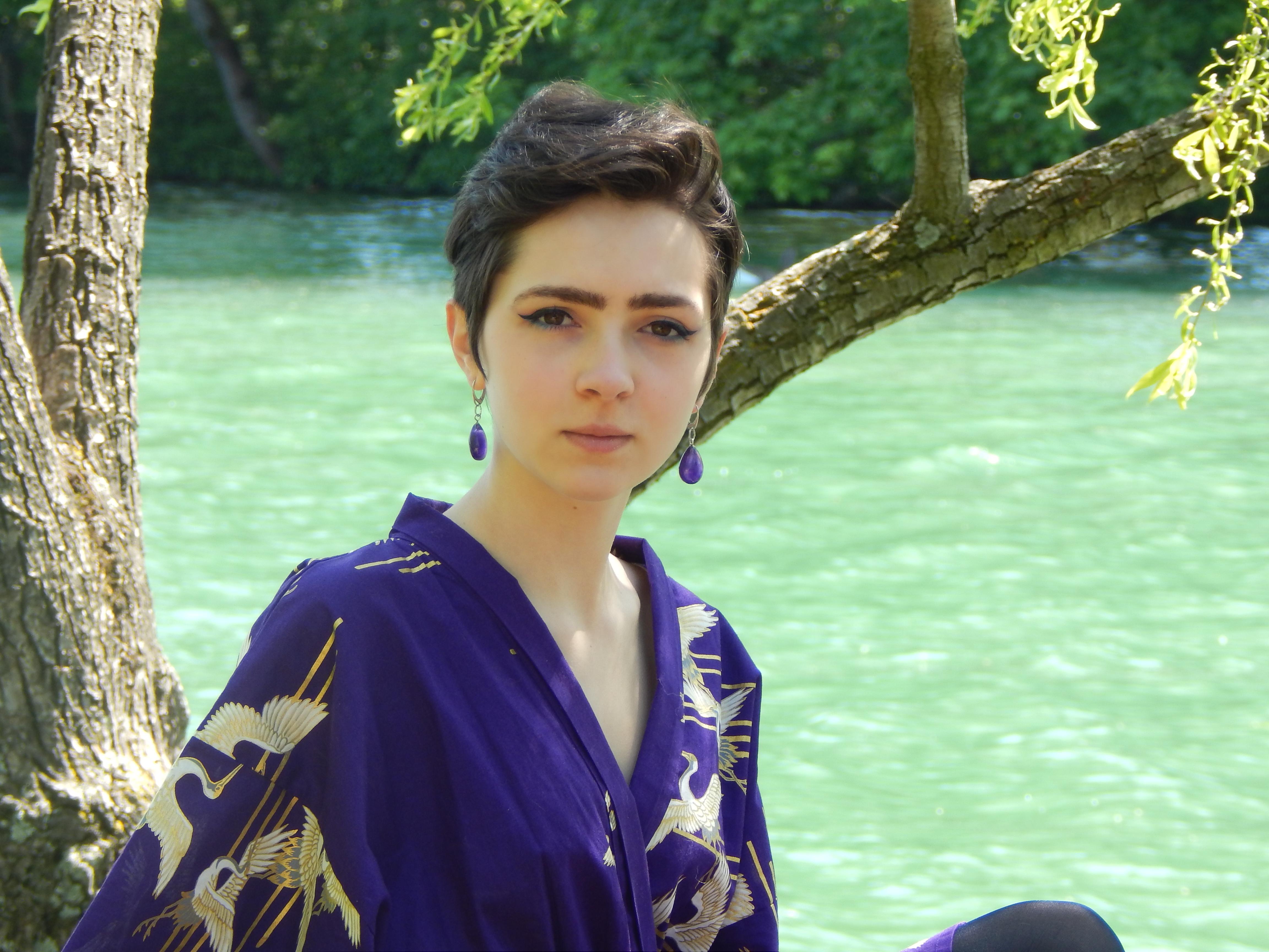 portrait kimono