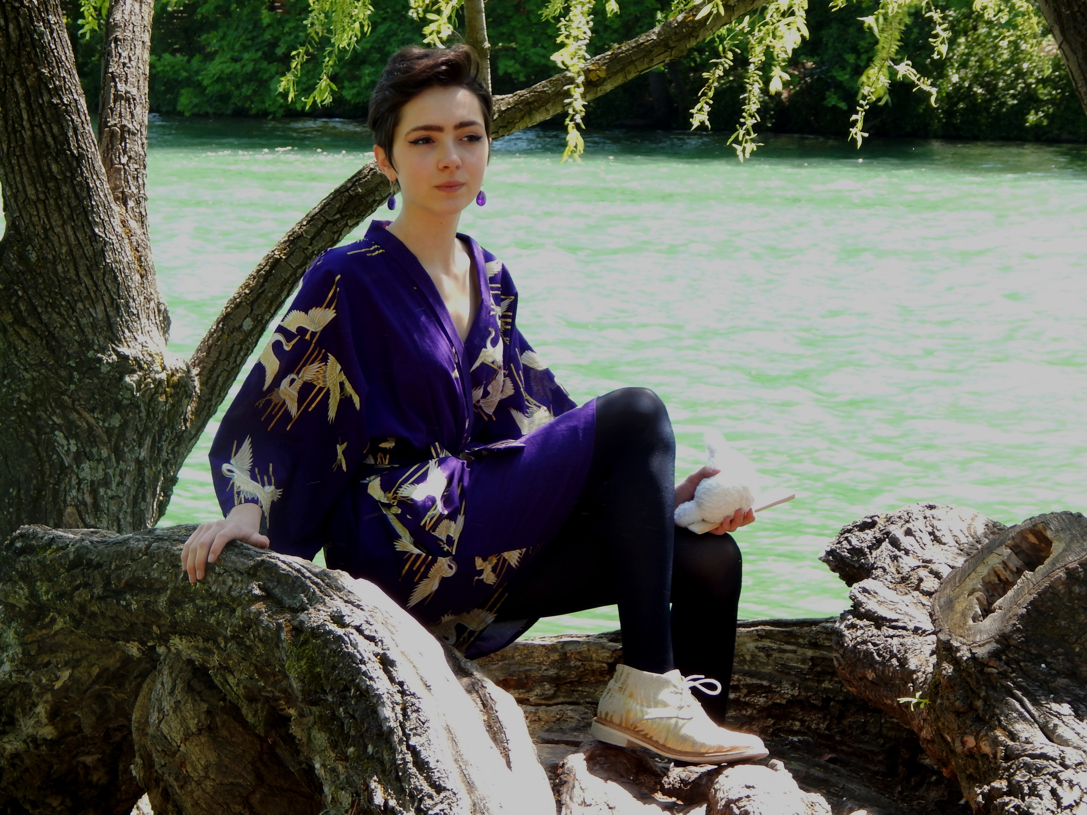 tenue japonaise kimono